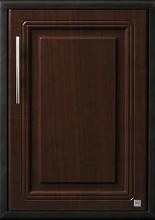 บานซิงค์เดี่ยวใต้เตา ABS - King รุ่น Platinum Series Pearl(เพิร์ล) สีโอ๊คดำ ขนาด(กว้างxสูงxหนา) 43.7x61.7x8.5 ซม.