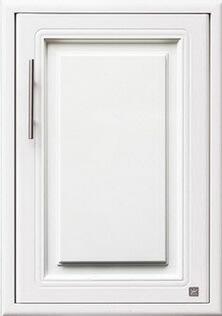 บานซิงค์เดี่ยวใต้เตา ABS - King รุ่น Platinum Series Pearl(เพิร์ล) สีขาว ขนาด(กว้างxสูงxหนา) 43.7x61.7x8.5 ซม.
