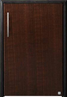 บานซิงค์ถังแก๊ส ABS - King รุ่น Platinum Series Jade(เจด) สีโอ๊คดำ ขนาด(กว้างxสูงxหนา) 50.8x73.6x8.5 ซม.