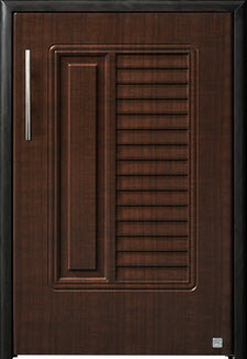 บานซิงค์ถังแก๊ส ABS - King รุ่น Platinum Series Nova(โนวา) สีโอ๊คดำ ขนาด(กว้างxสูงxหนา) 50.8x73.6x8.5 ซม.