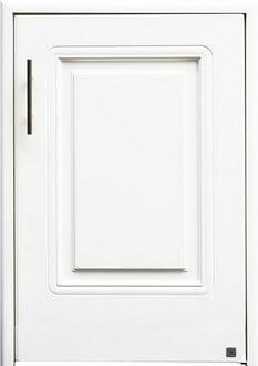 บานซิงค์ถังแก๊ส ABS - King รุ่น Platinum Series Pearl(เพิร์ล) สีขาว ขนาด(กว้างxสูงxหนา) 50.8x73.6x8.5 ซม.