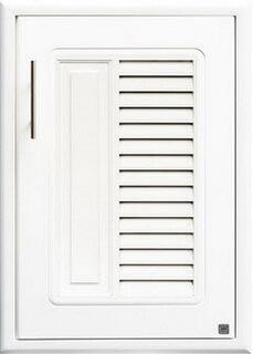 บานซิงค์เดี่ยว ABS - King รุ่น Platinum Series Nova(โนวา) สีขาว ขนาด(กว้างxสูงxหนา) 50.8x68.8x8.5 ซม.