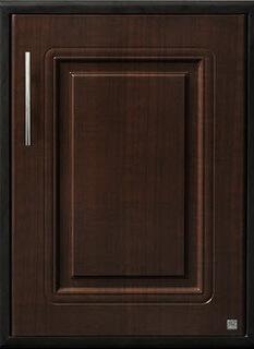 บานซิงค์เดี่ยว ABS - King รุ่น Platinum Series Pearl(เพิร์ล) สีโอ๊คดำ ขนาด(กว้างxสูงxหนา) 50.8x68.8x8.5 ซม.