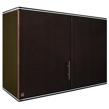 ตู้แขวนเข้ามุม ABS - King รุ่น Platinum Series Jade(เจด) สีโอ๊คดำ ขนาด(กว้างxสูงxหนา) 90x67.8x34 ซม.