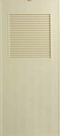 ประตู PVC - Bathic(บาธติก) BS3 สีครีม