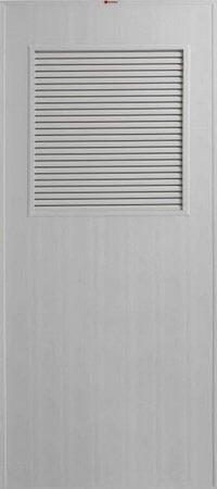 ประตู PVC - Bathic(บาธติก) BS3 สีเทา