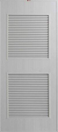 ประตู PVC - Bathic(บาธติก) BS4 สีเทา