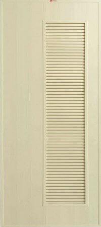 ประตู PVC - Bathic(บาธติก) BS5 สีครีม