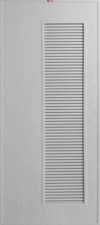 ประตู PVC - Bathic(บาธติก) BS5 สีเทา