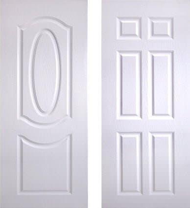 ประตู UPVC - Polywood(โพลีวูด) Revo Series PNR-002, PNR-003 สีขาว