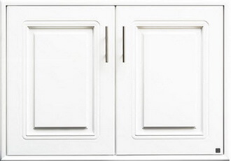 บานซิงค์คู่ ABS - King รุ่น Platinum Series Pearl(เพิร์ล) สีขาว ขนาด(กว้างxสูงxหนา) 96x68.8x8.5 ซม.