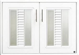 บานซิงค์คู่ ABS - King รุ่น Platinum Series Sapphire(แซฟไฟร์) สีขาว ขนาด(กว้างxสูงxหนา) 96x68.8x8.5 ซม.