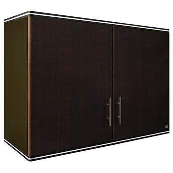 ตู้แขวนคู่ ABS - King รุ่น Platinum Series Jade(เจด) สีโอ๊คดำ ขนาด(กว้างxสูงxหนา) 90x67.8x34 ซม.