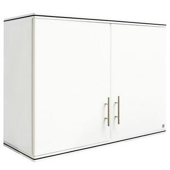ตู้แขวนคู่ ABS - King รุ่น Platinum Series Jade(เจด) สีขาว ขนาด(กว้างxสูงxหนา) 90x67.8x34 ซม.