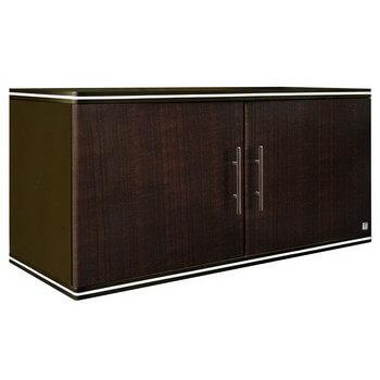 ตู้เสริม ABS - King รุ่น Platinum Series Jade(เจด) สีโอ๊คดำ ขนาด(กว้างxสูงxหนา) 90x42x34 ซม.