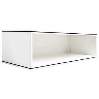 ช่องเสริมแนวนอน ABS - King รุ่น Platinum Series สีขาว ขนาด(กว้างxสูงxหนา) 90x26x34 ซม.