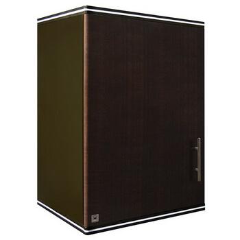 ตู้แขวนเดี่ยว ABS - King รุ่น Platinum Series Jade(เจด) สีโอ๊คดำ ขนาด(กว้างxสูงxหนา) 45x67.8x34 ซม.