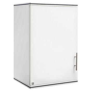 ตู้แขวนเดี่ยว ABS - King รุ่น Platinum Series Jade(เจด) สีขาว ขนาด(กว้างxสูงxหนา) 45x67.8x34 ซม.