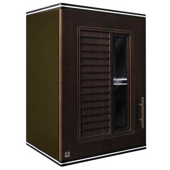 ตู้แขวนเดี่ยว ABS - King รุ่น Platinum Series Nova(โนวา) สีโอ๊คดำ ขนาด(กว้างxสูงxหนา) 45x67.8x34 ซม.