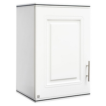 ตู้แขวนเดี่ยว ABS - King รุ่น Platinum Series Pearl(เพิร์ล) สีขาว ขนาด(กว้างxสูงxหนา) 45x67.8x34 ซม.