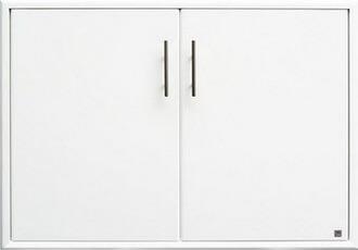 บานซิงค์คู่ ABS - King รุ่น Platinum Series Jade(เจด) สีขาว ขนาด(กว้างxสูงxหนา) 96x68.8x8.5 ซม.