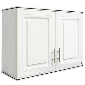 ตู้แขวนคู่ ABS - King รุ่น Platinum Series Pearl(เพิร์ล) สีขาว ขนาด(กว้างxสูงxหนา) 90x67.8x34 ซม.
