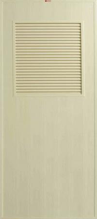 ประตู Bathic (บาธติค) BS3 สีครีม