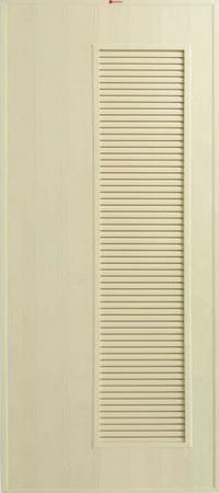 ประตู Bathic (บาธติค) BS5 สีครีม