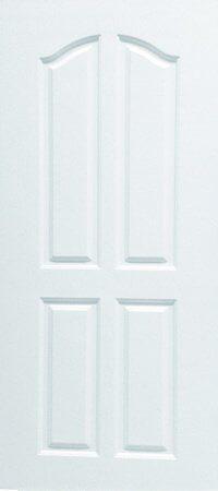 ประตู UPVC - Polywood(โพลีวูด) Revo Series PNR-006 บานทึบ สีขาว