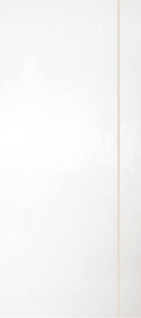 ประตู UPVC - Polywood(โพลีวูด) G-Series PVM-01 บานทึบ-เซาะร่อง สีขาว