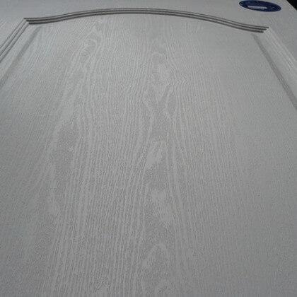 ผิวลายเสี้ยน ประตู UPVC - Polywood Revo Series สีขาว