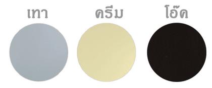 วงกบ PVC - Polywood มี 3 สี (เทา, ครีม, โอ๊ค)