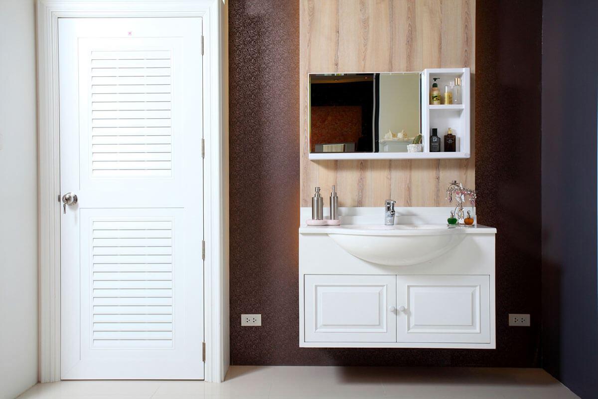 ประตู ABS - King KG3 สีขาว