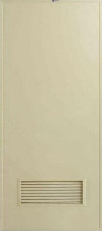 ประตู PVC - Bathic(บาธติค) BS2 สีครีม