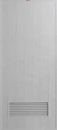 ประตู PVC - Bathic(บาธติค) BS2 สีเทา