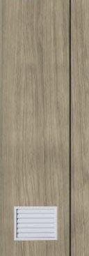 ประตู PVC - Polywood (โพลีวูด) M Series รุ่น PM-2 70x200 ซม. สีแทนเมเปิ้ล
