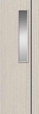 ประตู PVC - Polywood (โพลีวูด) M Series รุ่น PM-4 70x200 ซม. สีไวท์โอ๊ค