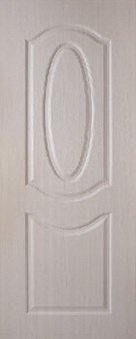 ประตู UPVC - Polywood (โพลีวูด) Revo Series LPNR-002 บานทึบ สีไวท์โอ๊ค