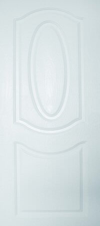 ประตู UPVC - Polywood(โพลีวูด) Revo Series PNR-002 บานทึบ สีขาว