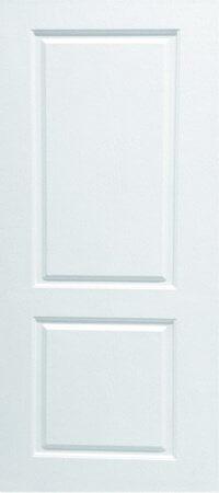 ประตู UPVC - Polywood(โพลีวูด) Revo Series PNR-004 บานทึบ สีขาว
