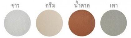 ประตู UPVC - Polywood รุ่น Revo Series และ G-Series สำหรับใช้งานภายในและภายนอกอาคาร มี 4 สี(ขาว, ครีม, น้ำตาล, เทา)