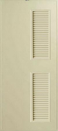 ประตู PVC - Bathic(บาธติค) BS6 สีครีม