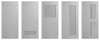 ประตู PVC - Bathic รุ่น Standard BS1, BS2, BS3, BS5, BS6 สีเทา